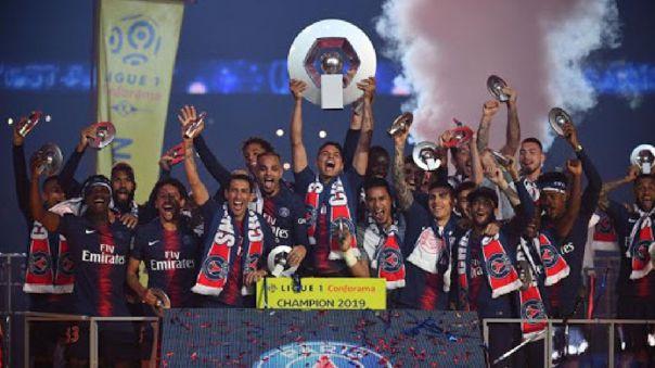 PSG fue declarado campeón de la Ligue 1 por decisión del gobierno francés