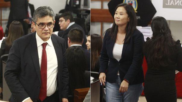 Fiscal Pérez presentó reclamo al Poder Judicial.