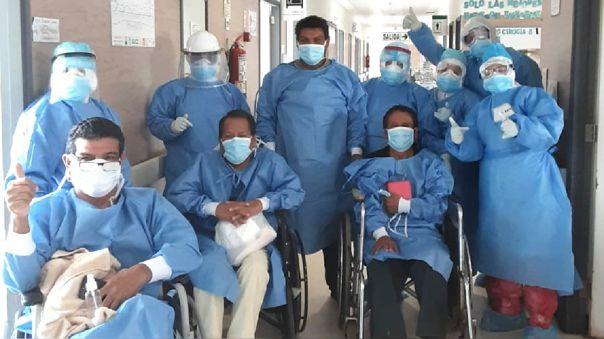 Pacientes vencieron el nuevo coronavirus y fueron dados de alta del hospital regional