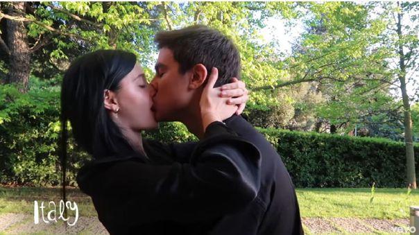 Paulo Dybala y su novia Oriana Sabatini