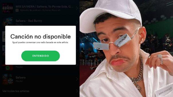 Spotify explica por qué sacó 'Safaera' de su plataforma