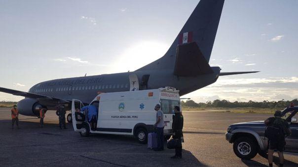 El avión será usado para trasladar equipos hacia  Iquitos, una de las ciudades más golpeadas por el coronavirus.