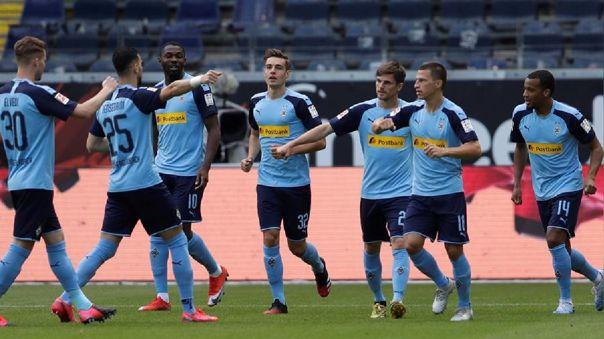 Eintracht Frankfurt vs. Borussia M'gladbach