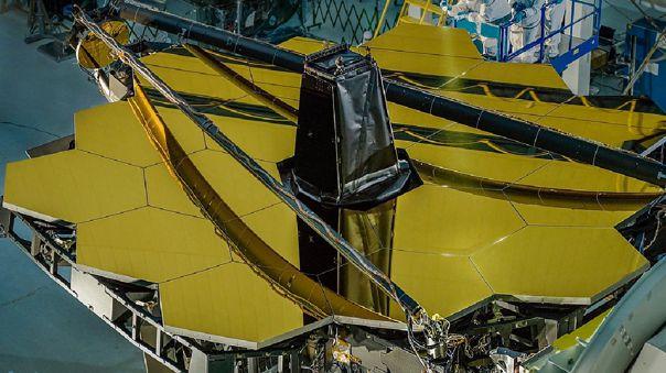 Espejo primario del nuevo telescopio James Webb