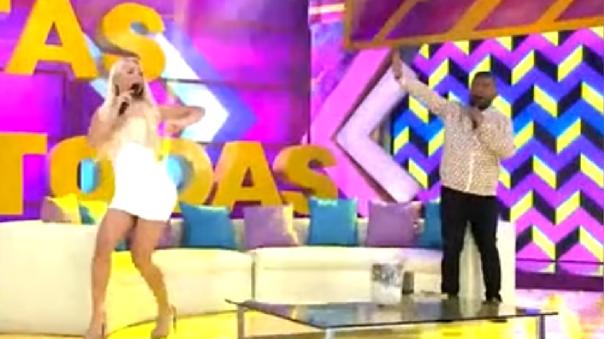 """""""Estás en Todas"""" regresó en vivo a América Televisión"""