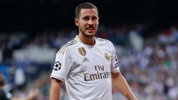Eden Hazard volvió a entrenar con el Real Madrid y se encontró con una dura realidad