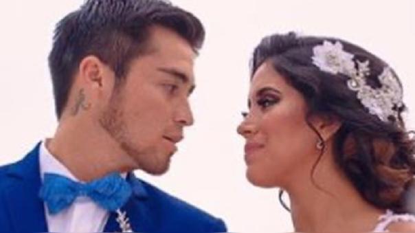 Melissa Paredes y Rodrigo Cuba