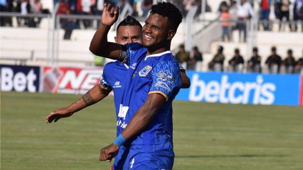 Aldair Rodríguez es el actual goleador de la Liga 1