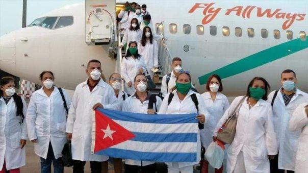 Médicos cubanos llegarán al Perú para sumarse a lucha contra el coronavirus.