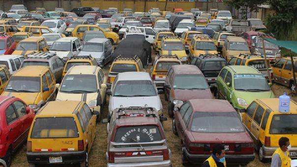 Vehículos internados en depósito municipal de Ica