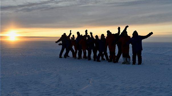 Miembros de la expedición serán evaluados para notar los efectos del aislamiento prolongado.