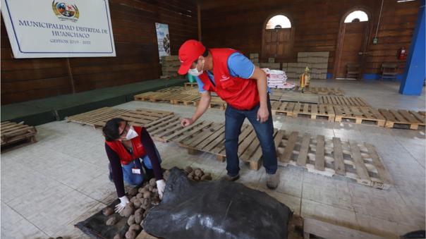 Contraloría encuentra papa malograda en Huanchaco