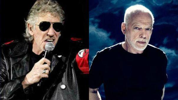 Roger Waters y David Gilmour