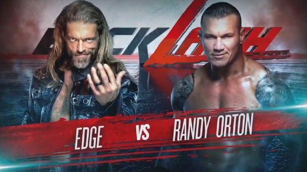 Edge vs. Orton