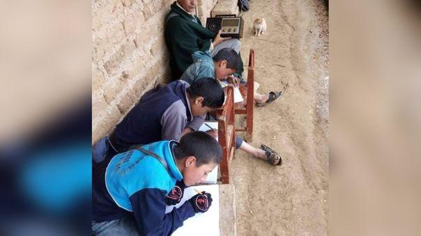 Niños de Poroy no tienen internet para acceder a sus clases virtuales