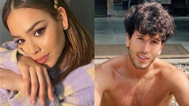 Danna Paola y Sebastián Yatra