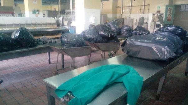 Lavandería hospital