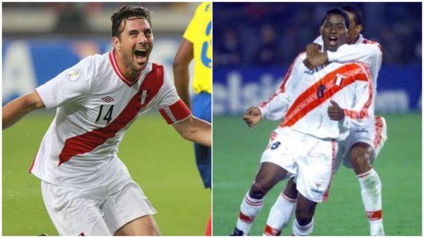 Juan Jayo y Claudio Pizarro coincidieron en la Selección Peruana