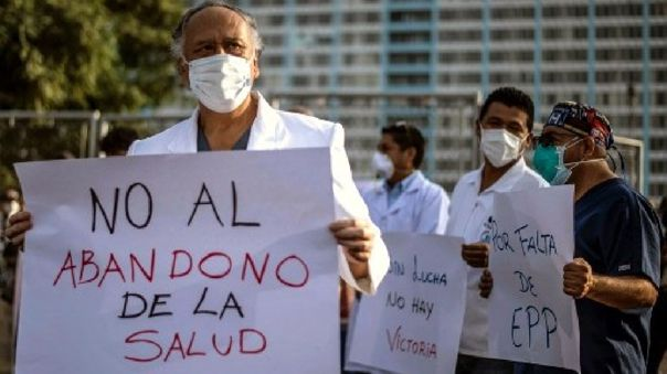 PERU-HEALTH-VIRUS-PROTEST