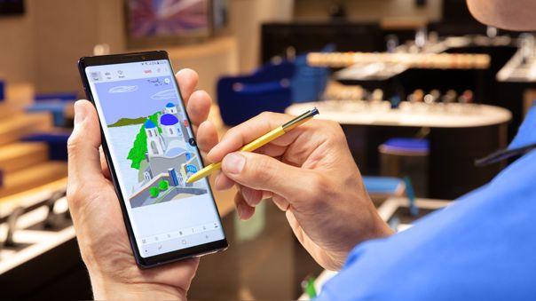 El Samsung Galaxy Note 9 tuvo los mejores resultados en la encuesta de satisfacción.