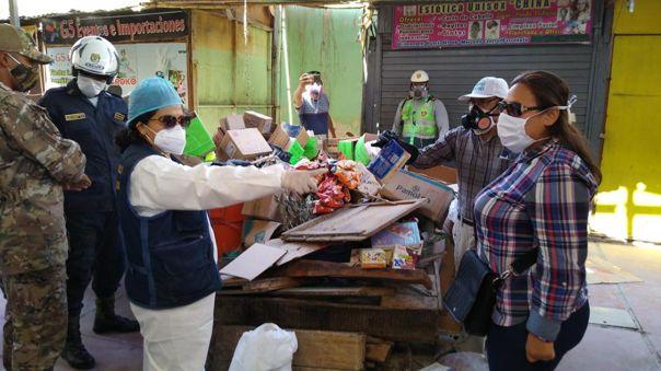 Encuentran productos vencidos en mercado de Ferreñafe