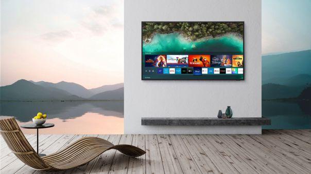 La nueva línea de televisores Samsung está pensada específicamente para exteriores.