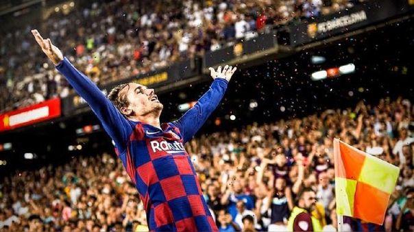 Antoine Griezmann llegó a Barcelona en 2019