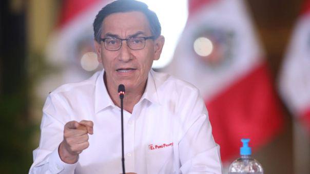 Presidente Vizcarra anunciará nuevas medidas.