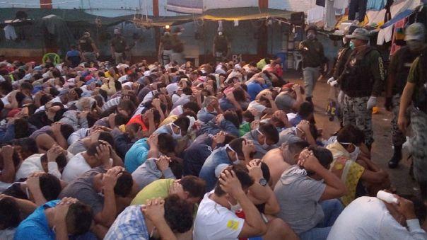 Requisa en el penal de Chiclayo, ubicado en el distrito de Picsi
