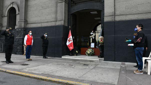 Ceremonia se realizó en la comisaría Alfonso Ugarte.