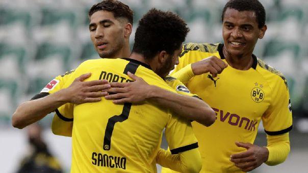 Borussia Dortmund vs. Wolfsburgo, fecha 27 de la Bundesliga