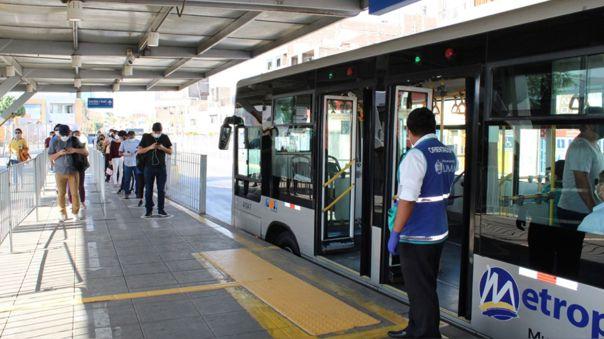Los buses brindarán servicios de 5:30 a.m. a 9 p.m.