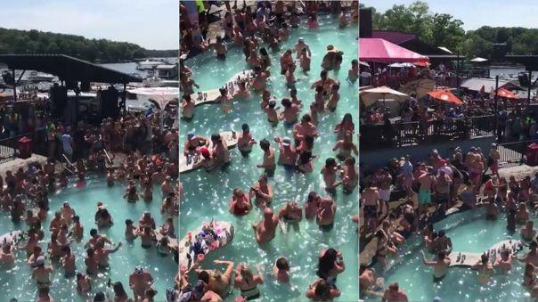 Así fue la fiesta cuyo video se hizo viral en Estados Unidos