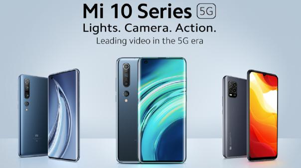 La línea Mi 10 cuenta con tres equipos 5G.