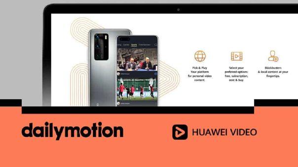 Dailymotion se integra a Huawei Video.