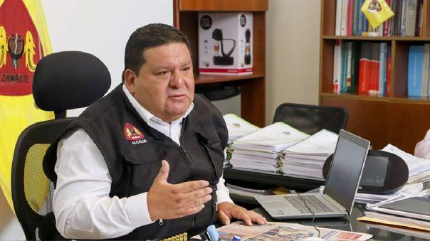 Alcalde Del Santa