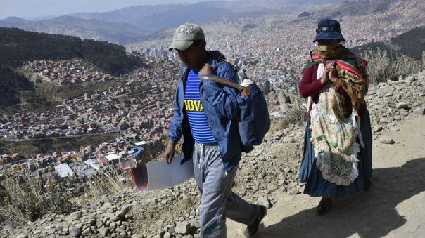 BOLIVIA-HEALTH-VIRUS-POVERTY-DAILY LIFE