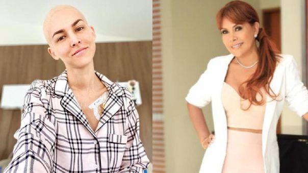 Magaly Medina elogió la actitud de Anahí de Cárdenas.