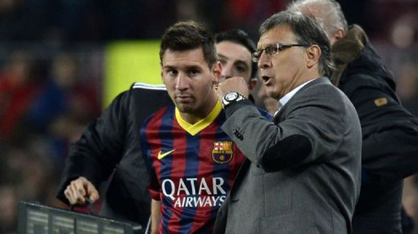 Lionel Messi y Gerardo 'Tata' Martino