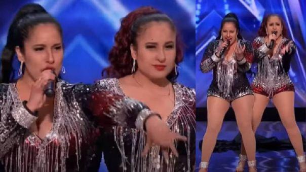 Gemelas peruanas que arrasaron en America's Got Talent