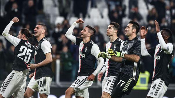 Juventus lidera la clasificación en la Serie A