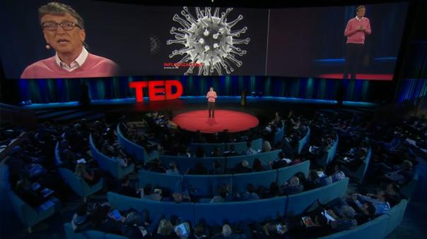 La exposición de Bill Gates en TED advertía sobre la importancia de prepararse para una pandemia.