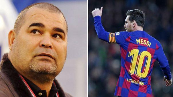 José Luis Chilavert confesó que le gustaría volver a jugar fútbol con Lionel Messi de compañero