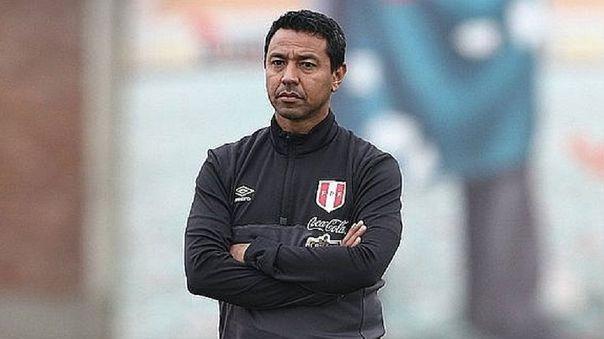 Nolberto Solano asistente técnico de la Selección Peruana.