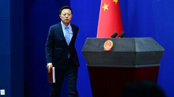 Zhao Lijian, portavoz del Ministerio de Asuntos Exteriores chino.
