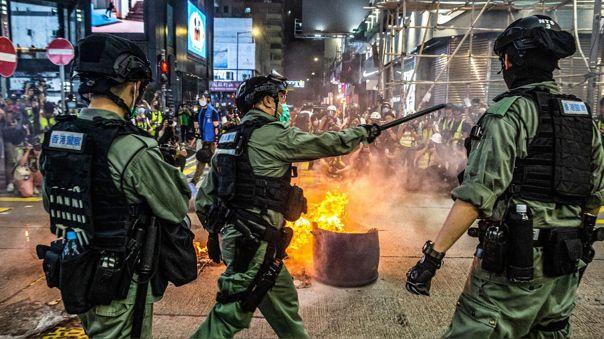 Esta semana las protestas contra el régimen chino regresaron a Hong Kong en medio de la crisis por el coronavirus.