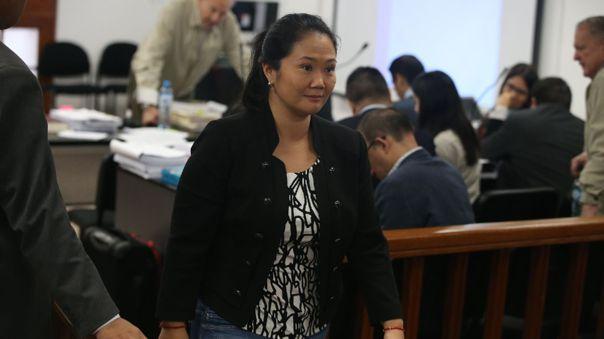 Keiko Fujimori abandonó la cárcel donde cumplía prisión preventiva.