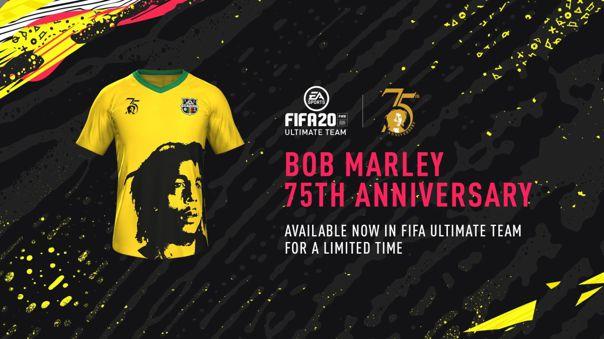 Bob Marley llega a Fifa Ultimate Team (FUT).