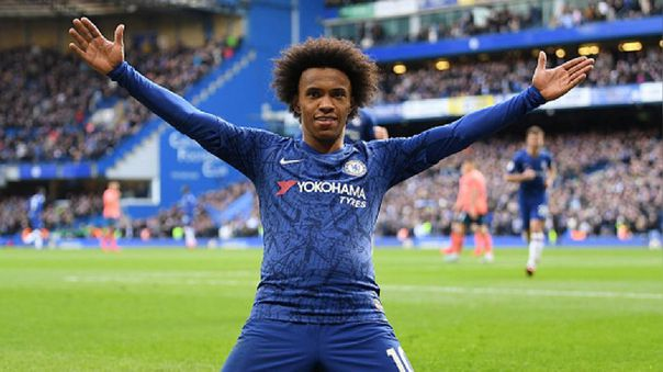 Willian lleva 7 temporadas vistiendo la camiseta del Chelsea