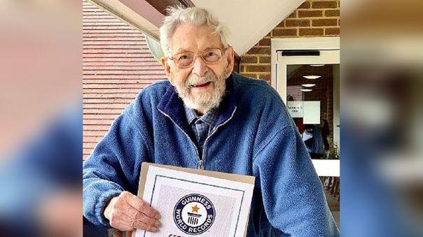 Bob Weighton había sido reconocido por Guinness como el hombres más anciano del mundo.